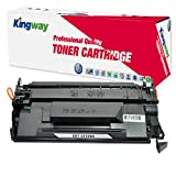 CF226X Compatible Toner Cartridge, Kingway 26X Replacement for HP LaserJet Pro M402n M402dn M402dw MFP M426fdw M426fdn Printer (1 Pack, Black)