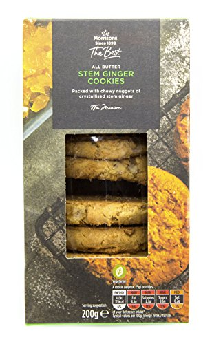 Morrisons The Best Stem Ginger Cookies 200g