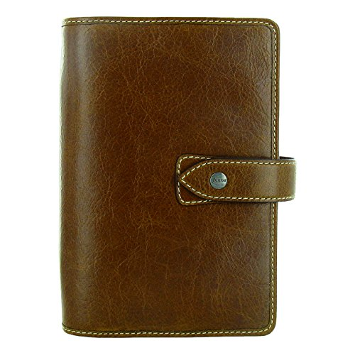 Filofax 2019 Malden Personal Organizer, Leather, Ochre, Paper Size 6.75 x 3.75 inches (C025808-19)