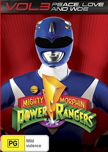 Mighty Morphin Power Rangers Peace, Love and Woe Volume 3 | NON-USA Format | PAL | Region 4 Import - Australia