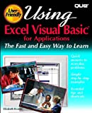 Using Excel Visual Basic for Applications, Elizabeth Boonin and Pub Que, 0789703254