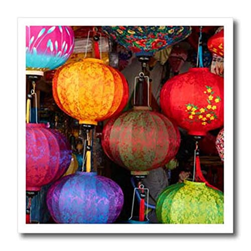 3dRose ht_257294_2 Lantern Shop, Hoi an, UNESCO, Vietnam Iron On Heat Transfer 6