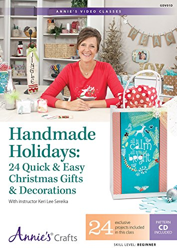 Best buy Handmade Holidays: Quick & Easy Christmas Gifts Decorations Class DVD: With Instructor Keri Sereika