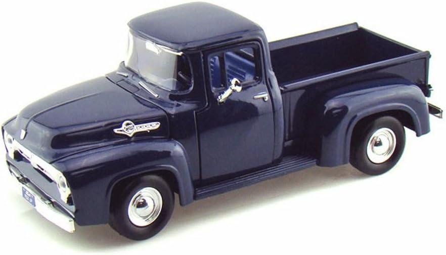 Imachine 1956 Ford F-100 Pickup Blue 1/24