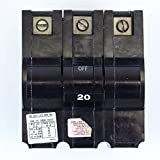 FEDERAL PACIFIC NA320 FPE Stab Lok Stab-in Circuit Breaker 3 Pole 20 Amp 240V