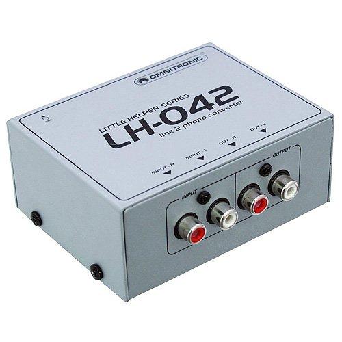 Omnitronic 10355042 LH-042 Line/Phono-Wandler