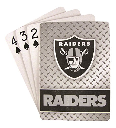 NFL Oakland Raiders Playing (Unisex Gift Cards)