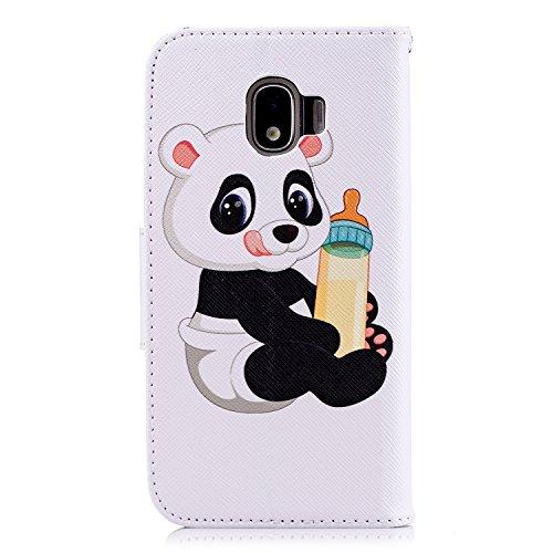 Herbests avec Etui J2 Portefeuille en 2018 Coque Etui Pro Samsung pour Pro 2018 Galaxy Protection de Pro 2018 Homme Galaxy pour J2 Rabat Galaxy Protect 2 Housse Panda Motif Cuir Coque de à Étui Femme J2 Fille PpTHqYx