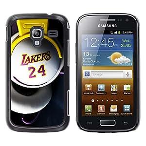 iKiki Tech / Estuche rígido - Laker 24 Basket - Samsung Galaxy Ace 2