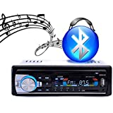 Car Radio Stereo Player Bluetooth Phone AUX-IN MP3 FM/USB/1 Din/remote control For Iphone 12V