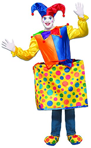 Forum Men's Jack in The Box Deluxe Costume