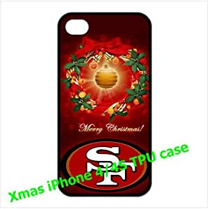 NFL San Francisco 49ers iPhone 4/4s Cases 49ers logo