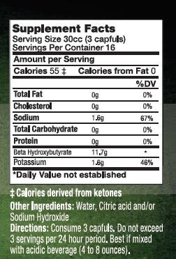 KetoSports KetoForce Dietary Supplement, 16 Fluid Ounce by KetoSports (Image #2)