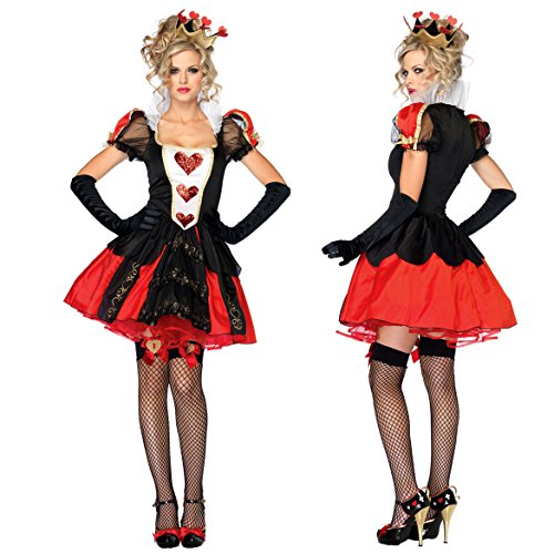 F&C A (The Queen Of Hearts Alice In Wonderland Costume)