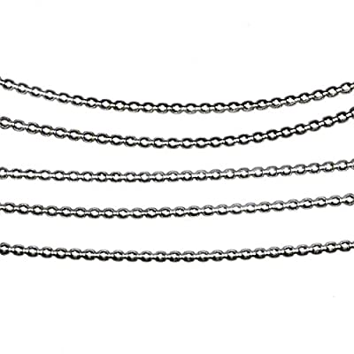 "Beaded Wire Sterling Silver Dead Soft 0.045"" 1.1mm (Qty=18"") by uGems"