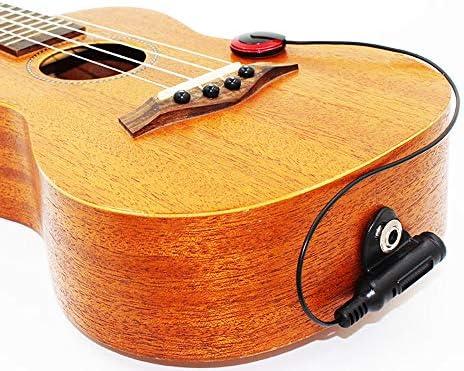 Kalaok Instrumento Dispositivo de captación de sonido Micrófono profesional de contacto piezoeléctrico para guitarra Violín Banjo Mandolina Ukulel Accesorios para guitarra: Amazon.es: Instrumentos musicales