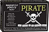 Magnetic Poetry - Pirate Kit - Words for Refrigerator - Write Poems and Letters on the Fridge - Made in the USA