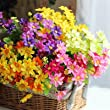 Daisy jump orchid chrysanthemum flowers simulation artificial flowers decorate the living room a single beam of multicolor chrys