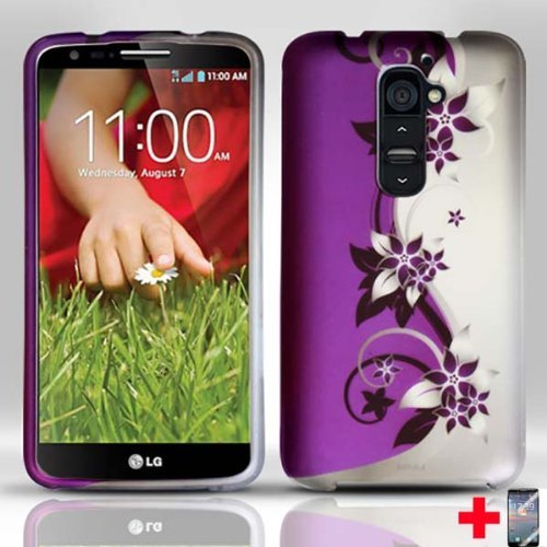 LG-G2-PURPLE-SILVER-VINES-RUBBERIZED-DESIGN-MOBILE-PHONE-COVER-SCREEN-PROTECTOR-FROM-TRIPLE8ACCESSORIES