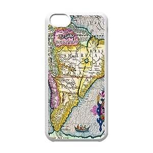 iPhone 5C Retro Map HGGF7480210