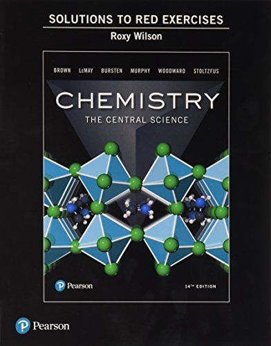 Student Solutions Manual to Red Exercises for Chemistry: The Central - Manual Exercise