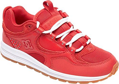 Dc Kalis Shoes - DC Women's Kalis Lite Skate Shoe, Red/White, 8 Medium US