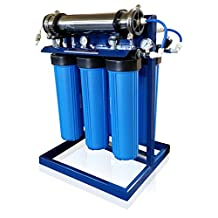 APEX Water Purification System for Well Water with Advanced Disinfectant UV Reactor & Pre-Filter (1000 GPD)