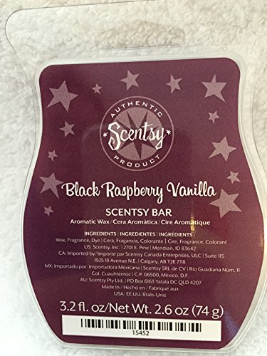 Scentsy Raspberry Vanilla Wickless Squares