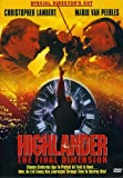 Highlander: The Final Dimension (Special Director's Cut)