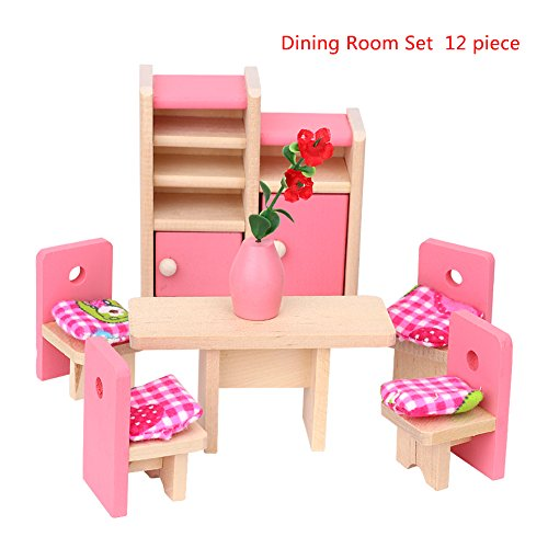 Wooden Toy House - 9