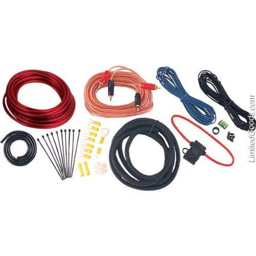 Amp Wiring Kit | BOSS Audio KIT-ZERO 10 Gauge Installation Kit