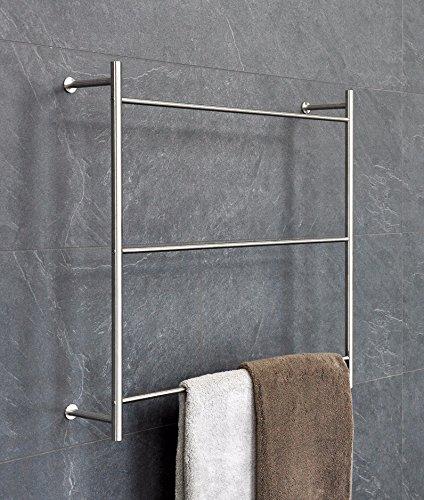 PSBA Wall Towel Rack Ladder for Bathroom Spa Towel Hanger 23.6-inch Steel Matte