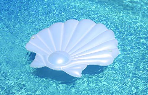 Swimline Seashell Island Extra Large Swimming Pool Float (Shell Island)