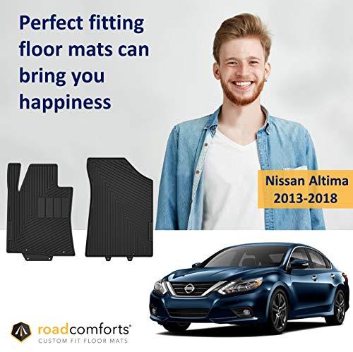 Custom Fit Nissan Altima 2013-2018 Car Floor Mats - Highest