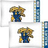 NCAA Kentucky Wildcats Football Set of Two Pillowcases