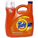 Tide` 689358585867 Ultra Concentrate High Efficiency Liquid Laundry Detergent, Original-110 Loads