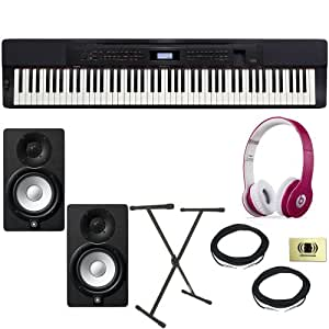 casio privia px 350 digital piano bundle with beats by dr dre solo hd on ear. Black Bedroom Furniture Sets. Home Design Ideas