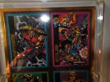 Ultraverse Comic Cards No. 0373.. Warstrike, Exiles, Prototyp and Hardcase in Protective Clear Case