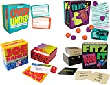Port-A-Party, Portable Party Games Gift Set: Over/Under - The Game of Guesstimates, Joe Name It, That's It! Just The Right Party Game, Fitz it