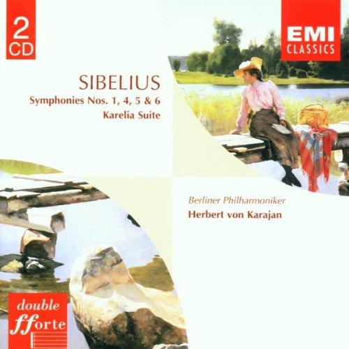 Sibelius: Symphonies Nos. 1, 4, 5 & 6 (Sibelius Symphony 5 Karajan compare prices)