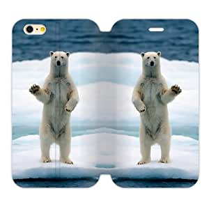 WXSTAR Fashion Polar Bear Custom Cover Case for iPhone6 4.7""