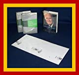 10 - 9 1/2'' x 20'' Brodart Fold-On Book Covers -- Center-Loading, Adjustable, Clear Mylar