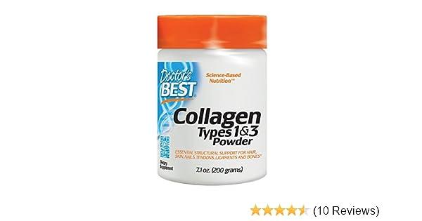 Amazon.com: Colageno Hidrolizado En Polvo Con Vitamina C - 7.1 Onzas De Colageno Puro Natural Para La Piel, Las Articulaciones Y Los Huesos - 100% ...