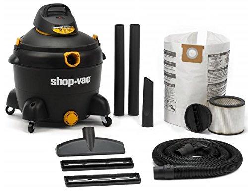 Shop Vac 598-33-00 16 Gallon 6.5 Peak Hp Wet & Dry Vacuum (16 Gallon Shop Vac Filter compare prices)