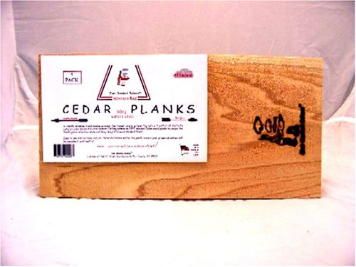 Western Red Cedar Grilling Planks 7.5 x 15 x 1/2 inch thick (Case of 24)