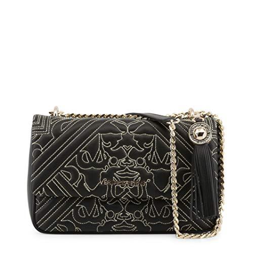 9cc3d1212f2d Versace EE1VSBBZ6 EM27 Black Gold Shoulder Bag for Womens