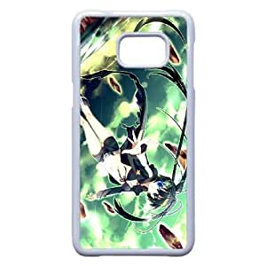 Samsung Galaxy S6 Edge Plus Phone Case White Black Rock Shooter VLN1124748