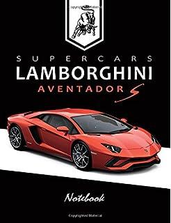 Supercars Lamborghini Huracan Notebook For Boys Notebook