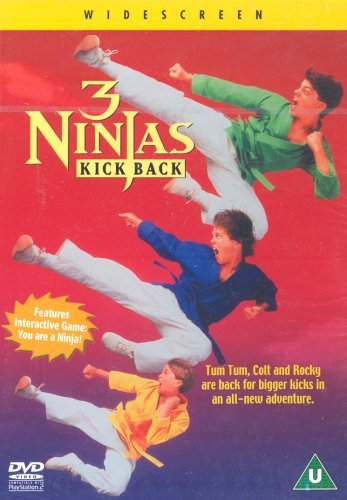 3 Ninjas Kick Back [DVD] [1994] by Victor Wong: Amazon.es ...