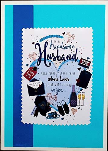 AanyaCentric Handmade Birthday Greeting Card for Husband